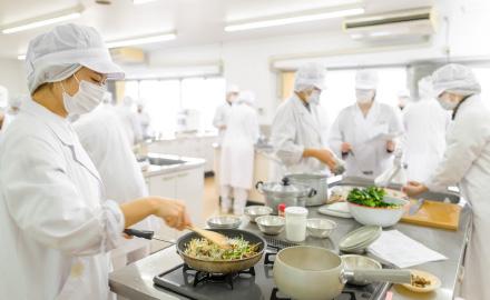 食物系実習室