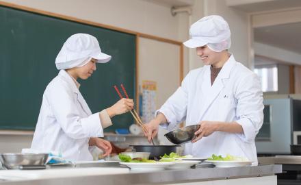 食品加工実習室