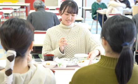 実習食堂(学生ホール)